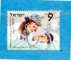 (5Ni) ISRAELE**- 2011 - CLOWN.   Unif.2157.  MNH. - Israel