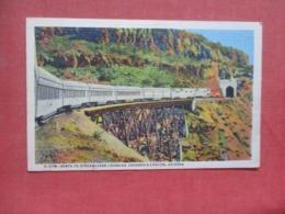 Fred Harvey  H 1574 Santa Fe Streamliner Az   Ref 4243 - Treinen