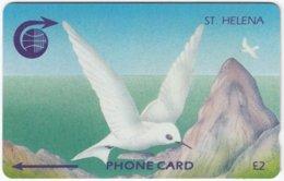 ST. HELENA A-005 Magnetic - Painting, Animal, Bird - 3CSHA - Used - St. Helena Island