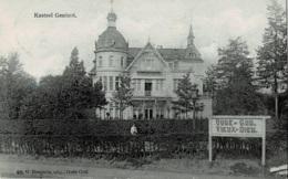 Oude-God Kasteel Genicot Circulée En 1911 - Mortsel