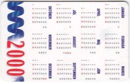 SLOVAKIA A-968 Chip Telekom - Calendar 2000 - Used - Slovaquie