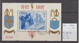 België 1942 - Yv. Blok 18 Gest./obl./used - Blocks & Sheetlets 1924-1960
