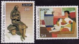 Chypre - Europa CEPT 1993 - Yvert Nr. 804/805 - Michel Nr. 803/804  ** - 1993