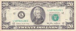 BILLET 20 DOLLARS USA 20 $ De 1985- Pick N° 477 - Andrew Jackson - Biljetten Van De  Federal Reserve (1928-...)