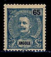 ! ! Angola - 1903 D. Carlos 65 R - Af. 82 - MH - Angola