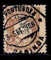 ! ! Angola - 1904 Postage Due 20 R - Af. P 03 - Used - Angola