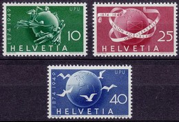 Schweiz Mi.  522-524 Postfrisch Weltpostverein (UPU) 1949  (11286 - Zwitserland