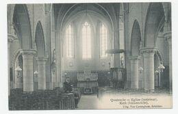 Kwatrecht - Quatrecht : De Kerk (binnenzicht) / Eglise (interieur) - Wetteren