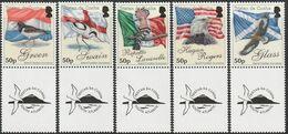 2010 Tristan Da Cunha Island Families Surnames: Birds And Flags Set (** / MNH / UMM) - Unclassified
