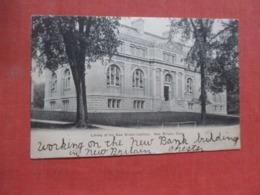 Library New Britain Institute   New Britain   Connecticut >     Ref 4243 - Etats-Unis