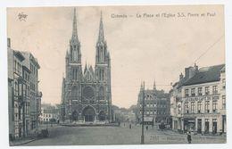 Oostende - Ostende - La Place Et L'Eglise S.S. Pierre Et Paul - Oostende