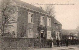 Villers-le-bouillet  Postes-Télégraphes Et Imprimerie Animée Circulé En 1913 - Villers-le-Bouillet