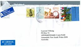 (E 17) Cyprus To Australia (Europa 2010) - 2010
