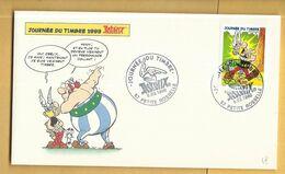 Enveloppe ASTERIX  J.D.Timbre 1999 - Petite Rosselle - Commemorative Labels