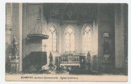 Schaffen - De Kerk (binnenzicht) / Eglise (interieur) - Diest
