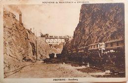 CPA - 57 - Merlebach - Freyming - Sandberg - Bassin Houiller De Lorraine - Le Trains Et Les Convois - Andere Gemeenten