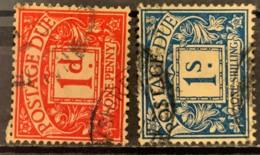 GREAT BRITAIN  -  (0)  -  # P9/16  2 VALUES - Tasse