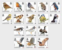 Alderney 2020 - Definitives - Alderney Birds Stamp Set Mnh - Alderney