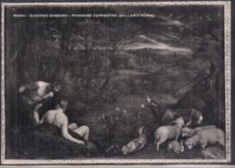 C. Postale - Giacomo Bassano - Paradiso Terrestre - Galleria Doria - Circa 1960 - Non Circulee - A1RR2 - Musées