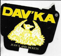 DAV'KA Jean's And Jackets - Aufkleber