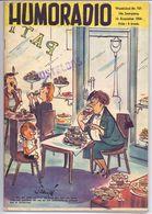 Tijdschrift Magazine - Humoradio - 15 Aug. 1954 - Riviste & Giornali