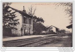 82)  MONTRICOUX (Tarn Et Garonne)  La Gare - Frankreich