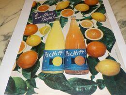 ANCIENNE PUBLICITE LE MEILLEUR SODA  LIMONADE PSCHITT 1958 - Affiches