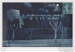33) La Réole (Gironde) La Nuit - Ancien Château Des Quat ' Sos - La Réole