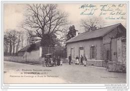 91) Vert Le Petit.- Poudrerie Nationale Du Bouchet (Seine Et Oise) Habitation Du Concierge  Et Route De Ballancourt - Vert-le-Petit