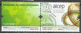 PORTUGAL, 2020, MNH, AICEP, WORLD DAY OF PORTUGUESE LANGUAGE,2v - Sprachen