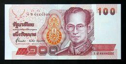 Thailand Banknote 100 Baht Series 14 P#97 SIGN#71 UNC - Tailandia