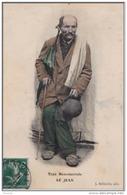 82) BEAUMONT DE  LOMAGNE -  TYPE BEAUMONTOIS - LE JEAN - (COLORISÉE) + 1 CPA - Beaumont De Lomagne