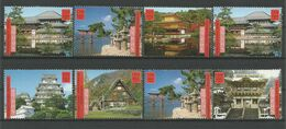United Nations G. 2001 World Heritage Japan Y.T. 430/437 ** - Geneva - United Nations Office
