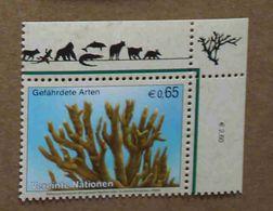Vi08-01 : Nations-Unies (Vienne) / Protection De La Nature - Corail De Feu (Millepora Alcicornis) - Vienna – International Centre