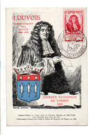 CARTE MAXIMUM 1947 JOURNEE DU TIMBRE - VALENCIENNES - Cartes-Maximum