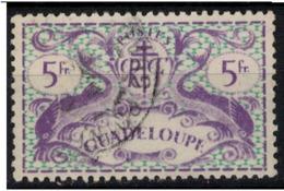 GUADELOUPE            N°  YVERT  :   193  ( 3 ) OBLITERE       ( Ob   7/ 61 ) - Guadeloupe (1884-1947)