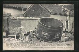 CPA Dizy, Debris Du Materiel De La Maison Raymont De Castellane Apres Son Pillage Par Les Emeutiers - France