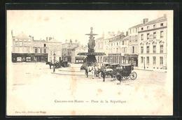 CPA Chalons-sur-Marne, Place De La Republique, Fontaine - Unclassified