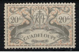 GUADELOUPE            N°  YVERT  :   196  (1)    OBLITERE       ( Ob   7/ 61 ) - Guadeloupe (1884-1947)
