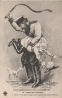 """A6- SERIE HUMORISTIQUE DE LA GUERRE 1914 """"LECON BIEN MERITEE ! """" - ILLUSTRATEUR A. P. JARRY - 2 SCANS - Humoristiques"""