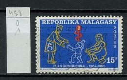 Madagascar - Madagaskar 1968 Y&T N°458 - Michel N°594 (o) - 15f Plan Quinquennal - Madagascar (1960-...)