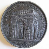 Médaille Napoléon I. Arc De Triomphe. A La Gloire De La Grande Armée. - Frankrijk