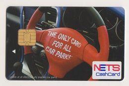 Singapore Cash Card Chip Cashcard Used - Andere Sammlungen