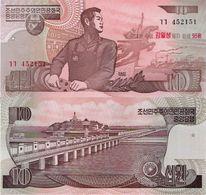 North Korea 1998 (2007) - 10 Won - Pick 51 UNC COMMEMORATIVE - Korea, Noord
