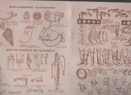 (USA, Californie,  Western) HARNACHEMENT CALIFORNIEN  (M0473) - Vieux Papiers