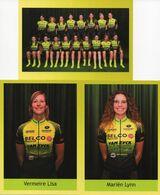 Cyclisme, Serie De Sprinters Malderen Dames 2020 - Radsport