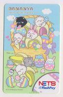 Singapore Cash Card Farecard Used Cashcard Bananya Anime - Andere Sammlungen