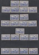 France 1938- Timbres Neufs Avec Charnière. Jeux Complet 21 Valeurs: Pierre Et Marie Curie................ (DD) DC-7706 - France (ex-colonies & Protectorats)