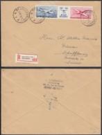 Belgique 1952 - Lettre Recommandée Vers La Suisse De Bruxelles................. (DD) DC-7715 - Belgium