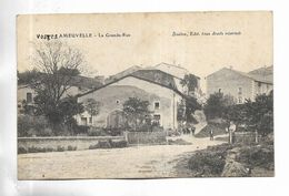 88 - AMEUVELLE - La Grande-Rue. Petite Animation. - Frankreich